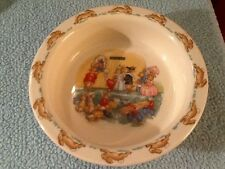 "Royal Doulton ""Bunnykins"" Oval Porridge Bowl - Barbara Vernon Buying Tickets"