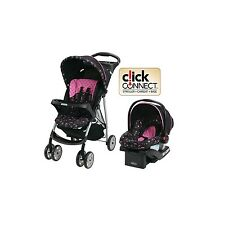 Graco Baby Stroller Car Seat Travel System Infant Toddler Carriage Pink