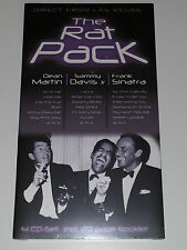 4 CD THE RAT PACK - DIRECT FROM LAS VEGAS - MARTIN DAVIS SINATRA - SEALED
