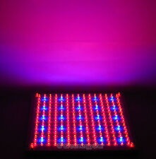 Red Blue Orange 229 LED Grow Light Panel Hydroponic Plant Lamp 18 Watt Tri-Band