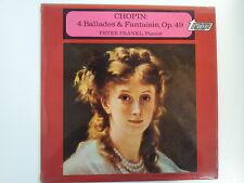LP CHOPIN 4 ballades + fantaisie Op 49 Peter Frankl