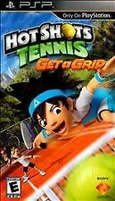 Hot Shots Tennis Get a Grip (PlayStation Sony PSP , 2010) Sports Game NEW!