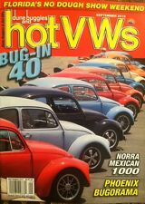 Dune Buggies & Hot VW's Seats Automatics Classics September 2015 FREE SHIPPING