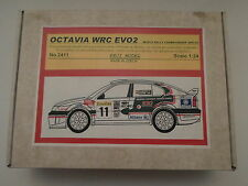Reji 1/24 - Skoda Octavia WRC - Rally Monte Carlo 2001/02 - Resin Kit