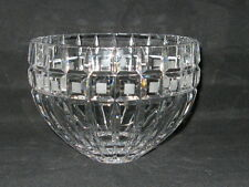 "Marquis by Waterford Quadrata Crystal 7.5"" inch Bowl - Gently Used - Marked"