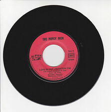 """THE POPSY MEN Vinyle 45T 7"""" GYPSY LOVE - LOVE IS OUR LIBERATION JukeBox FOX RARE"""