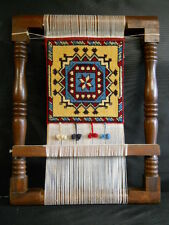Vintage Tapestry or Mini Rug Loom 21 x 16 Authentic Made in Pakistan
