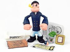 "Popeye The Sailorman PEA COAT POPEYE 5"" Action Figure Mezco 2001"