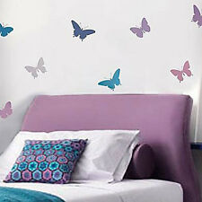 Butterfly Stencil Kit - 4-Piece - Stencils for Nurseries, Kids Room, DIY Crafts