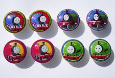 8 THOMAS THE TRAIN  KIDS BOYS DRESSER DRAWER KNOBS MADE AS ORDERED