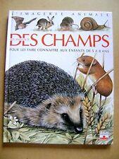 Les animaux des champs hérisson escargots  pour les enfants de 5 à 8 ans /Z45