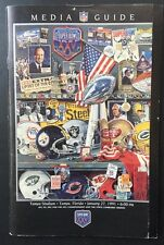 1991 Super Bowl Media Guide Program Tampa Ny Giants Champions Wide Right