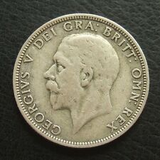 1936 GEORGE V SILVER FLORIN : 2 SHILLINGS COIN : EX JEWELLERY MOUNT ...t111