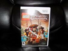 LEGO Pirates of the Caribbean: The Video Game (Nintendo Wii, 2011) EUC