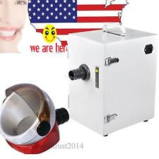 USA Dental Laboratory Single-Row Vacuum Dust Collector 370W w free suction base
