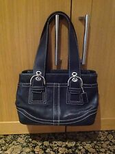 CLASSIC  LEATHER COACH BAG/USED TWICE GREAT CONDITION.
