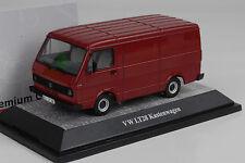 1975/86 Volkswagen VW lt28 coche recuadro van darkred rojo 1:43 premium classixxs