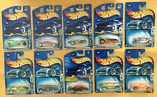 2003 Hot Wheels TRACK ACES Series FULL SET of 10! GT-40 Wildcat w/ATOMIX +8!