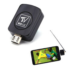 DVB-T Micro USB HD TV Tuner Receiver Dongle + Antenna For Android Mobile Phone