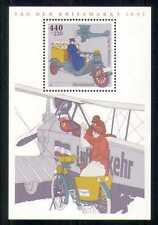 Germany 1997 Plane/Motor Bike/Transport/Stamp Day/Aviation/Aircraft m/s  n27844