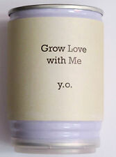 YOKO ONO - GROW LOVE WITH ME - RARE LIMITED EDITION ETCHED PLANT SEED FROM 2012!