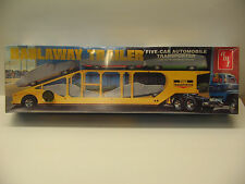 HAULAWAY TRAILER five car transporter 1/25 #8252 NEW Factory Sealed ERTL/AMT