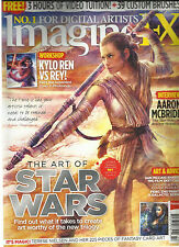 IMAGINE FX,   XMAS, 2015    ISSUE, 129 ( THE ART OF STAR WARS * ART & ADVICE )
