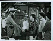 "Henry Winkler With The Lone Ranger Happy Days Original 7x9"" Photo #Z26"
