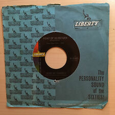 GENE MCDANIELS POINT OF NO RETURN LIBERTY RECORDS 55480 IN COMPANY SLEEVE