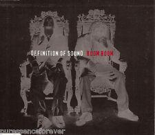 DEFINITION OF SOUND - Boom Boom (UK 3 Trk CD Single Pt 2)