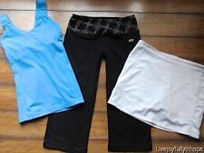 AVIA MARIKA So SPORTY ~ Small 3 PC Tank Skirt and Yoga Capris Athletic LOT