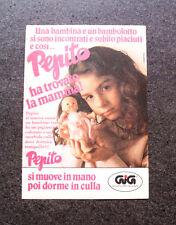 I383-Advertising Pubblicità-1987- GIG , PEPITO SI MUOVE IN MANO