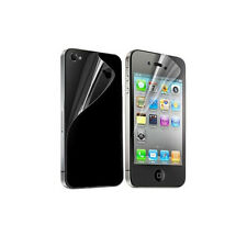 10X Front Back Clear Crystal Screen Protector Guard Shield For Apple iPhone 4 4S