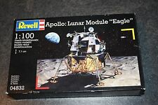 REVELL APOLLO LUNAR MODULE EAGLE 1:100 SCALE MODEL KIT 04832