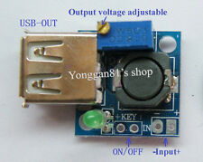 DC-DC 4.75-22V 12V to 5V 1-20V 3A Step Down Power Supply USB Charging Module