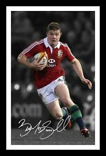 BRIAN O'DRISCOLL AUTOGRAPHED SIGNED & FRAMED PP POSTER PHOTO