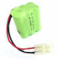 Double-deck 7.2V 1800mAh 6x AA Ni-MH RC Rechargeable Battery Pack w/ Tamiya Plug