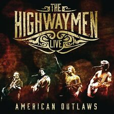 The Highwaymen-Live-American Outlaws (3-cd/dvd) 4 CD NUOVO