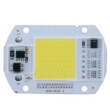1pc 50W 110V  LED Floodlight Cool White COB Chip Smart IC Driver Lamp for DIY0