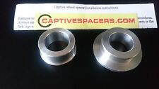 CBR900RR FIREBLADE 1997 1998 1999 Captive wheel Spacers. Rear wheel set.