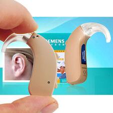 Top SIEMENS HIGH-POWER DIGITAL BEHIND-THE-EAR MINI BTE HEARING AID TOUCHING