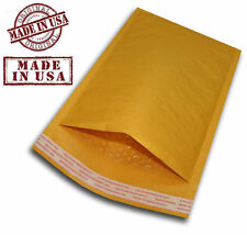 """200 #5 10.5x16 KRAFT BUBBLE PADDED MAILERS SELF SEAL ENVELOPES 10.5"""" x 16"""""""