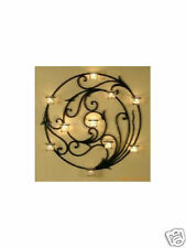 Iron French Style Candle Sconce Wall Art 9 Cups 55cm 002