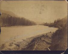 VICTORIA BRITISH COLUMBIA CANADIAN PACIFIC RAILWAY MCMUNN Photo 1890 CPR BC