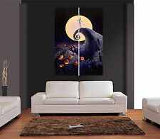 Il NIGHTMARE BEFORE CHRISTMAS rif 01 Giant WALL ART PRINT PICTURE POSTER
