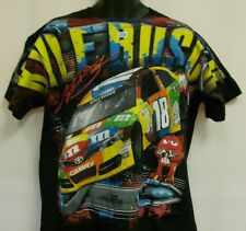 Kyle Busch M & M's Crew Chase All Over Print Tee - Shirt - XL Free Shipping # 18
