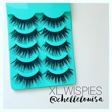 Long Wispie False Eyelashes Like Red Cherry  Lashes Ardell Wispies Lilly Huda
