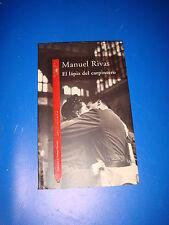 Libro El lapiz del carpintero de Manuel Rivas-buen estado!!