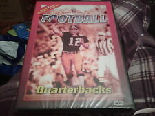 American football dvd quarterbacks sporting legends new sealed 2 hours