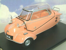 EXCELLENT OXFORD DIECAST 1/18 MESSERSCHMITT KR200 BUBBLE CAR ROSE PINK 18MBC003